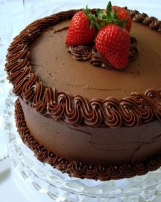 Quintessential Chocolate Cake | A Spicy Perspective