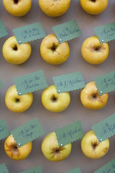Apple name cards