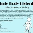 An Active Listening activity based on Michelle Garcia Winner's Whole Body Listening approach. This activity allows the student to identify and desc...