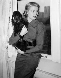 Grace Kelly and friend