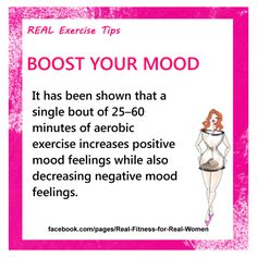 A natural high!!!!  Feeling stressed? Go workout promise you will feel better afterwards x www.realfitnessforrealwomen.com.au