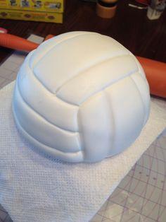 Volleyball cake.