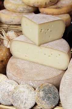 The Banon Festival of Cheese in the Luberon Valley, Provence, France
