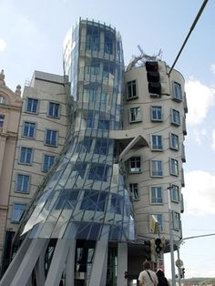 Dancing House   Every project undertaken by Gehry Partners, founded in 1962 and located in Los Angeles, is designed personally and directly by Gehry. In the late 1950s and 1960s - the earliest years of his practice