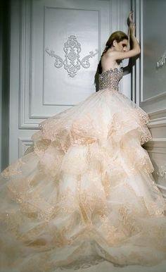 jeune mariée / Vestido de novia