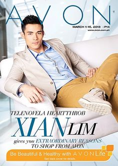 Telenovela heartthrob Xian Lim gives you EXTRAORDINARY reasons to shop from Avon! Check out our brochure to find out!