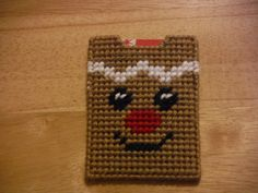 Gingerbread Man Gift Card Holder   Plastic by ShanaysCreation, $3.50
