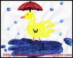 handprint duck