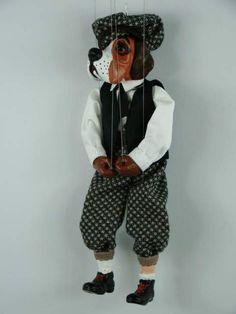 Dog, marionette puppet