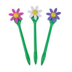 Wind-up Flower Windmill Pen (1 Pen) at theBIGzoo.com. Wind it up and watch the flower spin like a windmill!