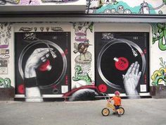 music, mto, garages, garage doors, graffiti, street art, deck, heavens, streetart
