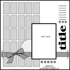 MSC May Bonus Sketch B - Scrapbook.com