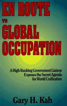 En Route to Global Occupation by Gary H. Kah, http://www.amazon.com/dp/0910311978/ref=cm_sw_r_pi_dp_TU7jrb1YE2VHV You MUST read this book to understand what is going on in the world today.