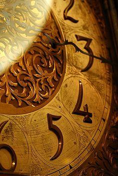 beautiful clock face