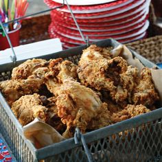 Double Dipped Buttermilk Fried Chicken Photo - Fried Chicken Recipe | Epicurious.com