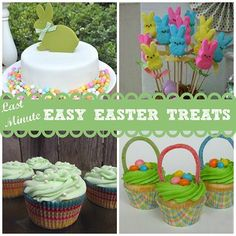 Last-Minute, Easy Easter Treats #easter #treats