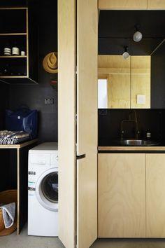 A-CH black + plywood