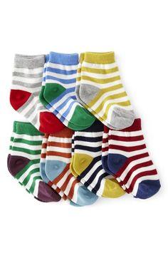 Mini Boden Pattern Socks (7-Pack) (Baby) | Nordstrom