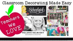 Classroom Decorating on a Budget with School Girl Style + Her Best Tips ... Follow Schoolgirl Style at www.schoolgirlstyle.com classroom themes decor decorations