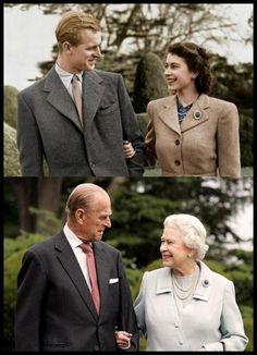 Queen Elizabeth and Prince Philip, Duke of Edinburg