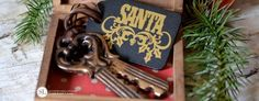 Magical Santa Keys | Christmas house keys for santa