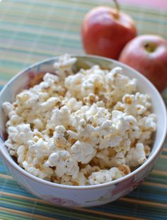 Two of my favorites...Popcorn and Parmesan