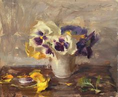 Quang Ho, Pansies before Winter