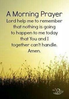 Morning Prayer Simple Prayer, Remember This, God Is, Jesus Christ, Daily Prayer, Mornings Prayer, Prayer Quote, Prayer C...