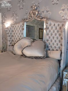 dita's mae west inspired bed