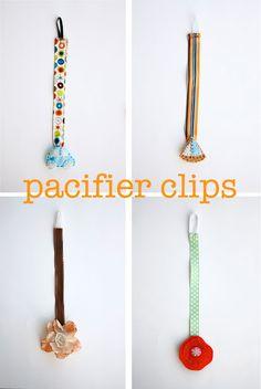 Pacifier Clip Tutorial!
