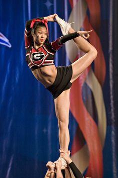NCA, competitive CHEER competition, Georgia, college cheerleader, cheerleading, stunt, scorpion m.7.53 moved from @Kythoni Cheerleading: Collegiate board: http://www.pinterest.com/kythoni/cheerleading-collegiate/ #KyFun