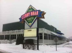 Cubby Bear North's marquee announces its closure.