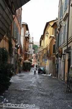 Una calle perdida de Roma... 2012