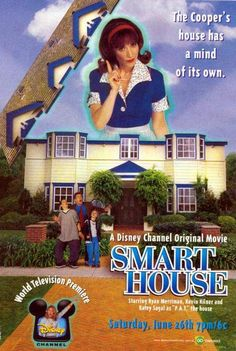 disney movies, 90s kid, remember this, childhood, old disney, disney channel, dream houses, 90s babi, smart house