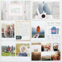 Project Life Layouts and Ideas from Magda Mizera