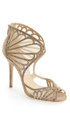 Shoe lust: Jimmy Choo glam.