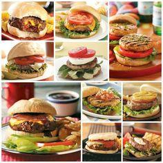 10 Hamburger Recipes (from Taste of Home)