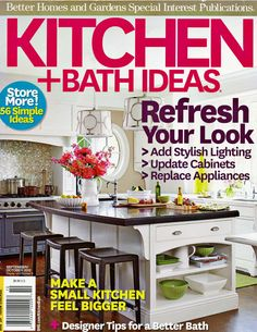 Kitchen by #NewCanaanKitchens - Rohl faucet in a #DarienCTKitchen featured on the cover of #KitchenandBathIdeas magazine FALL 2012 kitchens, faucet, magazine covers, magazin cover, magazin fall, kitchen design, kitchenandbathidea magazin, aunt, darienctkitchen featur