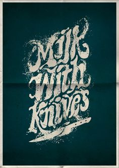 Typography Posters by Mats Ottdal