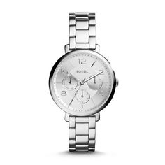 Fossil Modern Jacqueline Multifunction Stainless Steel Watch