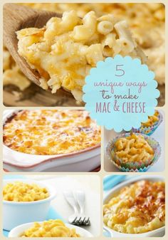 Thanksgiving Food Ideas: 5 Mac and Cheese Side Dishes