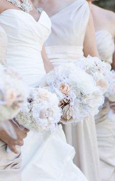 Bridal Bouquet - Fabric
