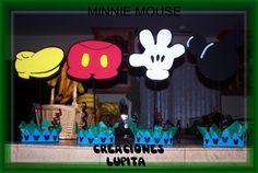 CENTROS DE MESA MICKEY MOUSE