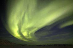 Aurora boreal #Canada