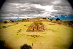 The ruins of Mt. Alban - a day trip from Oaxaca, Mx