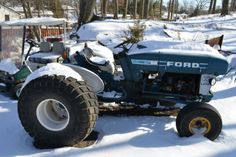 1984 Ford Utility Tractor - For Sale/Wanted - TurfNet.com
