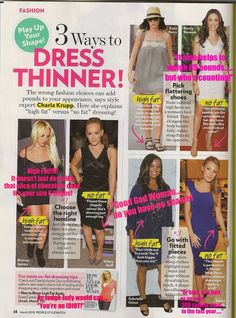 3 ways to dress thinner