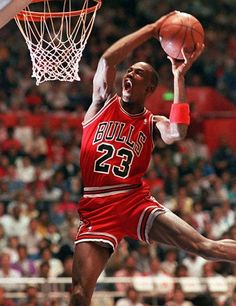 The one and only Michael Jordan