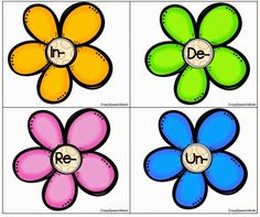 Speechie Freebies: Prefixes are Blooming in Speech! Important skills for building vocabulary. Pinned by SOS Inc. Resources. Follow all our boards at pinterest.com/sostherapy/ for therapy resources.