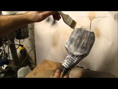 Tutorial: How to make faux wood grain. Reference for prop making using plastic.